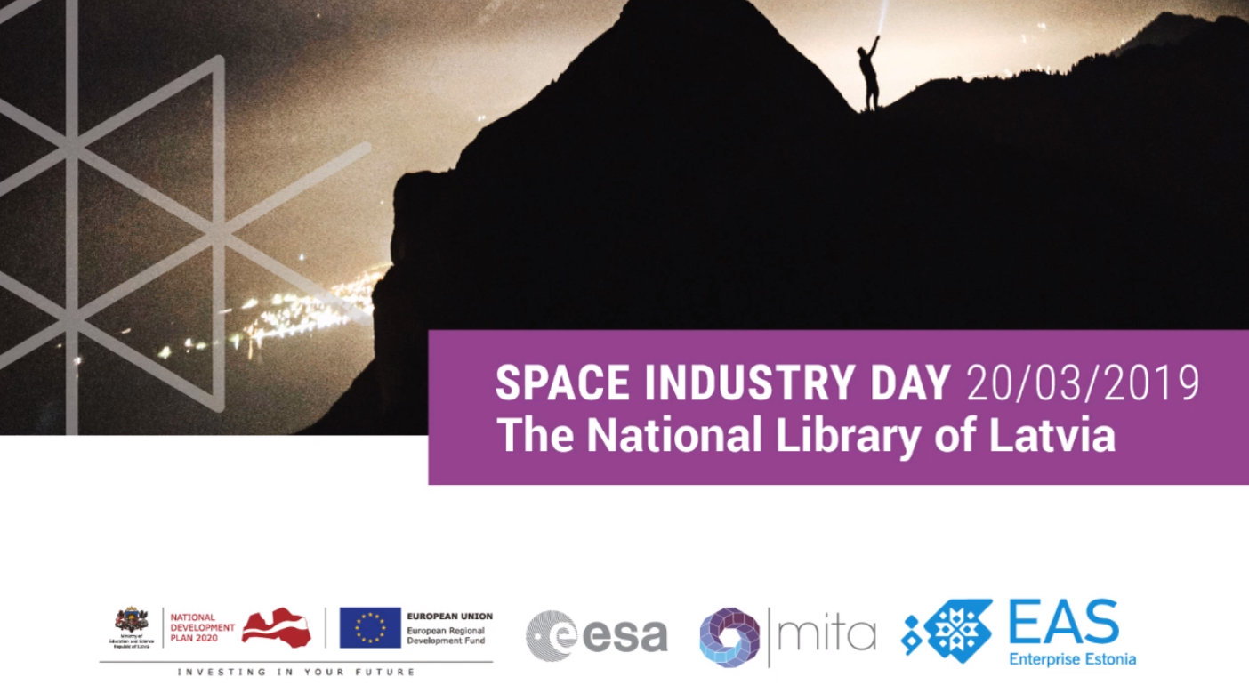 FOS presentation on SPACE INDUSTRY DAY 20/03/2019